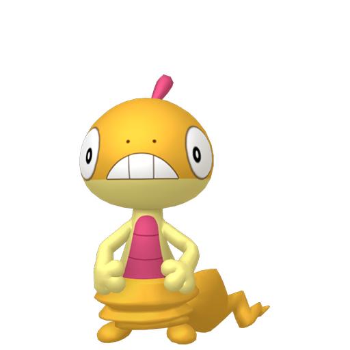 Artwork shiny de Baggiguane Pokémon Épée et Bouclier