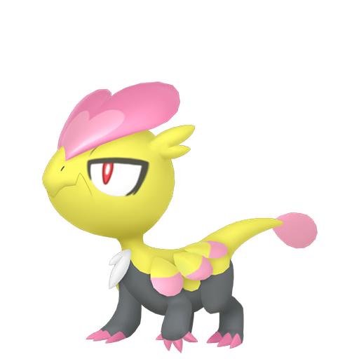 Artwork shiny de Bébécaille Pokémon Épée et Bouclier