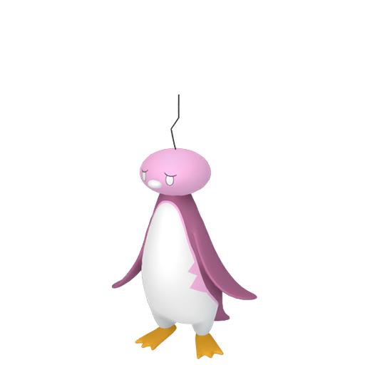 Artwork shiny de Bekaglaçon forme Tête Dégel Pokémon Épée et Bouclier