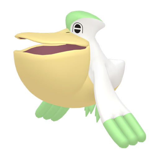 Artwork shiny de Bekipan Pokémon Épée et Bouclier