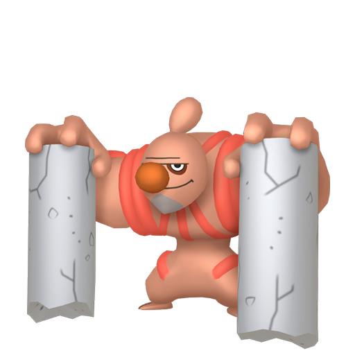 Artwork shiny de Bétochef Pokémon Épée et Bouclier