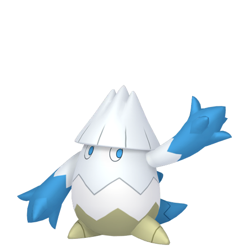 Artwork shiny de Blizzi Pokémon Épée et Bouclier