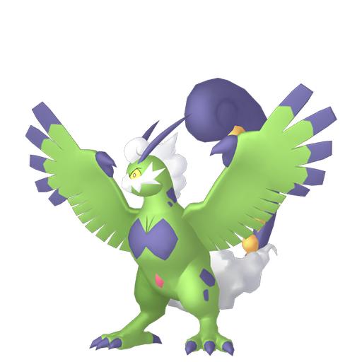 Artwork shiny de Boréas forme Totémique Pokémon Épée et Bouclier