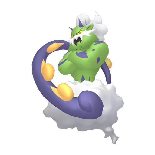 Artwork shiny de Boréas Pokémon Épée et Bouclier