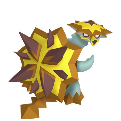 Artwork shiny de Boumata Pokémon Épée et Bouclier