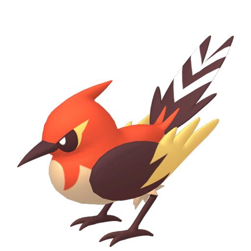 Artwork shiny de Braisillon Pokémon Épée et Bouclier