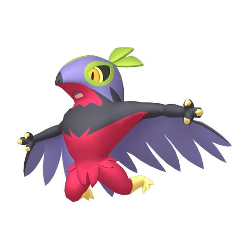 Artwork shiny de Brutalibré Pokémon Épée et Bouclier