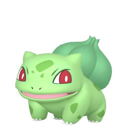 Artwork shiny de Bulbizarre Pokémon Épée et Bouclier