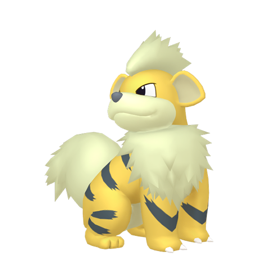 Artwork shiny de Caninos Pokémon Épée et Bouclier