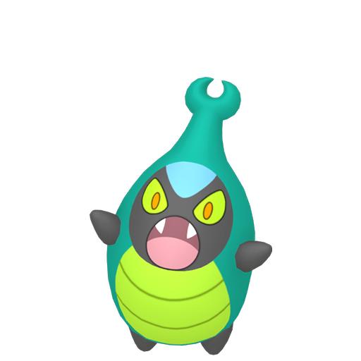 Artwork shiny de Carabing Pokémon Épée et Bouclier