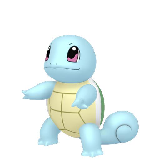 Artwork shiny de Carapuce Pokémon Épée et Bouclier