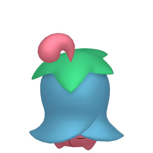 Artwork shiny de Ceriflor Pokémon Épée et Bouclier