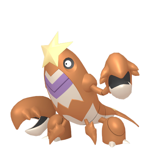 Artwork shiny de Colhomard Pokémon Épée et Bouclier