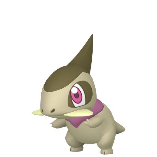 Artwork shiny de Coupenotte Pokémon Épée et Bouclier