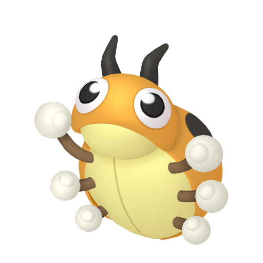 Artwork shiny de Coxy Pokémon Épée et Bouclier