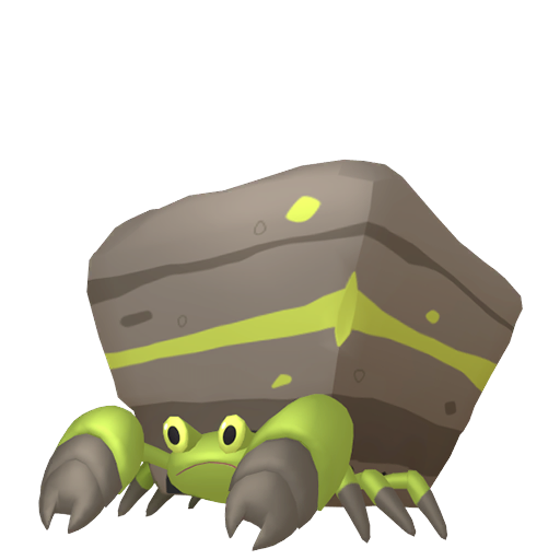 Artwork shiny de Crabaraque Pokémon Épée et Bouclier