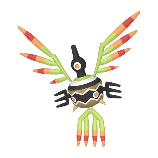 Artwork shiny de Cryptéro Pokémon Épée et Bouclier