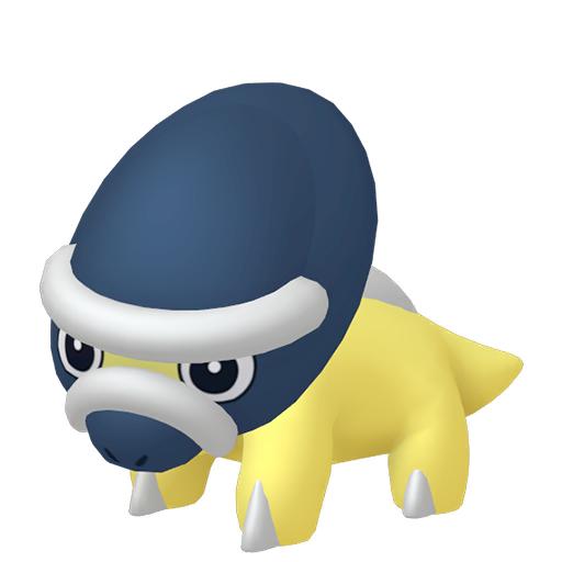 Artwork shiny de Dinoclier Pokémon Épée et Bouclier