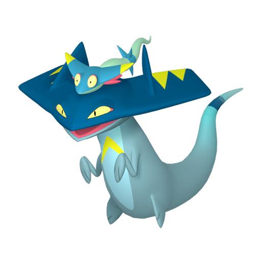 Artwork shiny de Dispareptil Pokémon Épée et Bouclier