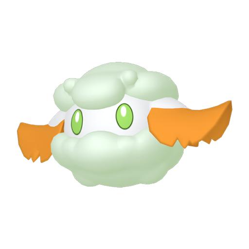 Artwork shiny de Doudouvet Pokémon Épée et Bouclier