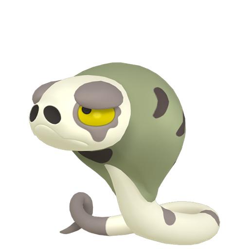 Artwork shiny de Dunaja Pokémon Épée et Bouclier