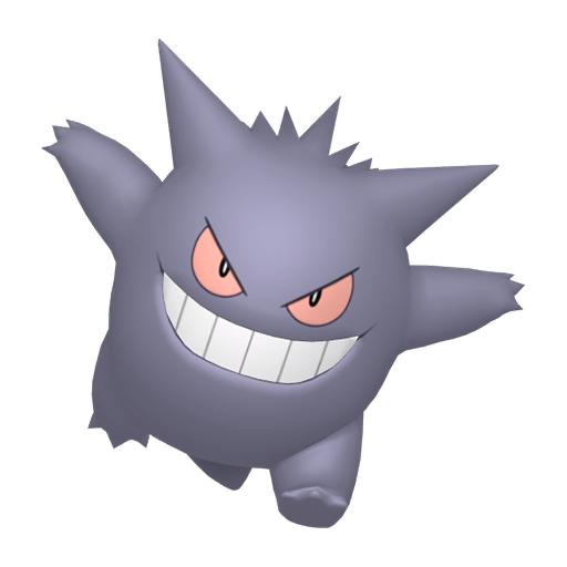 Artwork shiny de Ectoplasma Pokémon Épée et Bouclier