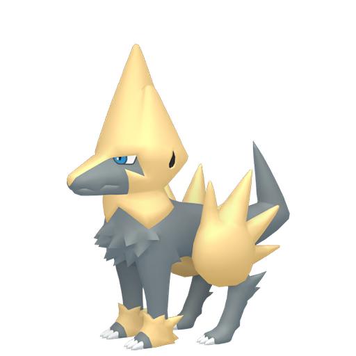 Artwork shiny de Élecsprint Pokémon Épée et Bouclier