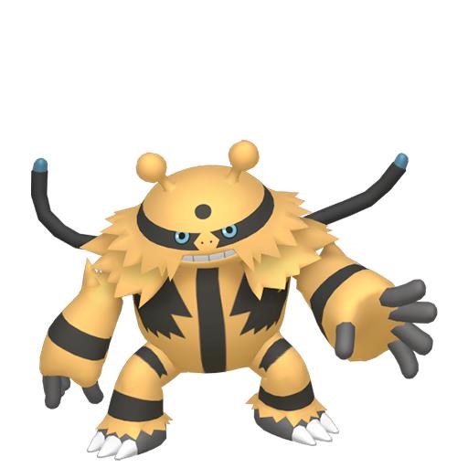 Artwork shiny de Élekable Pokémon Épée et Bouclier
