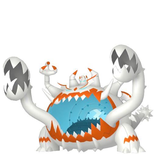 Artwork shiny de Engloutyran Pokémon Épée et Bouclier