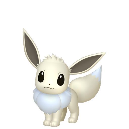 Artwork shiny de Évoli Pokémon Épée et Bouclier