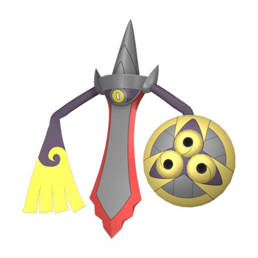 Artwork shiny de Exagide forme Assaut Pokémon Épée et Bouclier