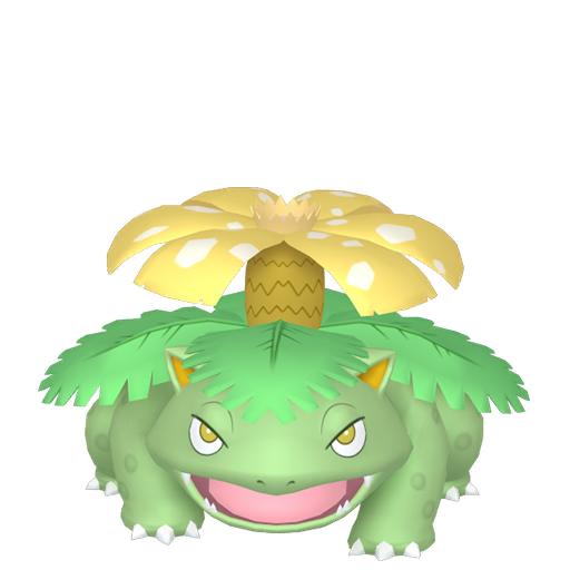 Artwork shiny de Florizarre Pokémon Épée et Bouclier