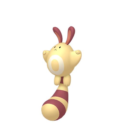 Artwork shiny de Fouinette Pokémon Épée et Bouclier
