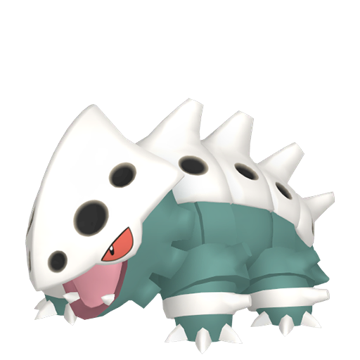 Artwork shiny de Galegon Pokémon Épée et Bouclier