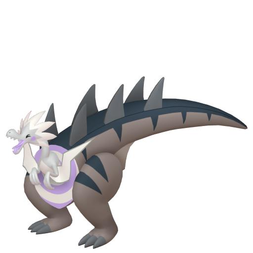 Artwork shiny de Galvagon Pokémon Épée et Bouclier