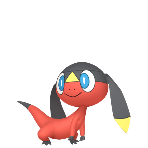 Artwork shiny de Galvaran Pokémon Épée et Bouclier