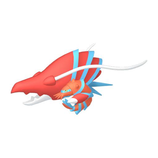 Artwork shiny de Gamblast Pokémon Épée et Bouclier