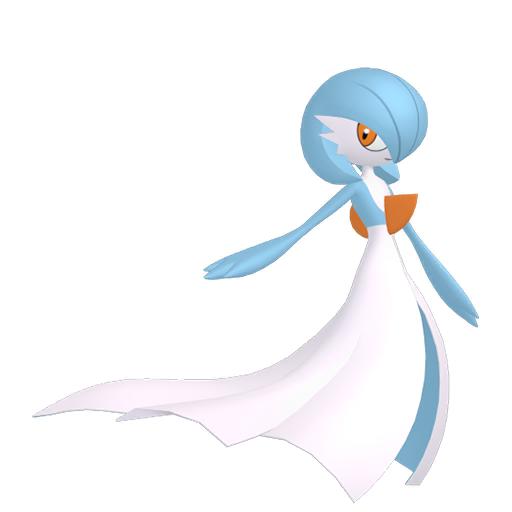 Artwork shiny de Gardevoir Pokémon Épée et Bouclier