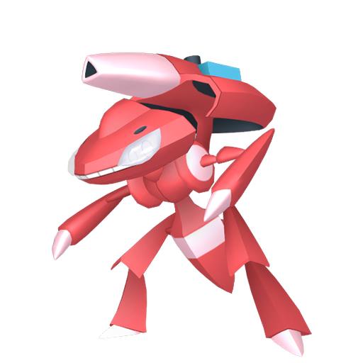 Artwork shiny de Genesect Module Aqua Pokémon Épée et Bouclier