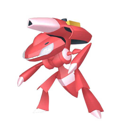 Artwork shiny de Genesect Pokémon Épée et Bouclier