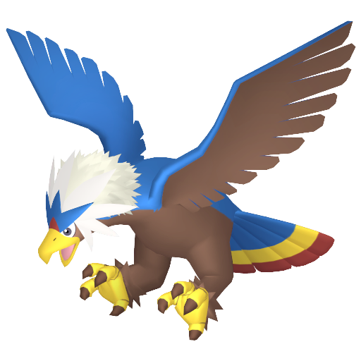 Artwork shiny de Gueriaigle Pokémon Épée et Bouclier