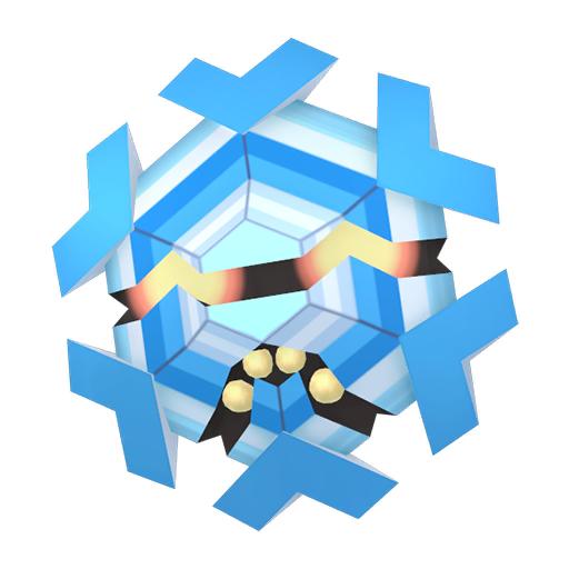 Artwork shiny de Hexagel Pokémon Épée et Bouclier