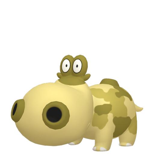 Artwork shiny de Hippopotas Pokémon Épée et Bouclier