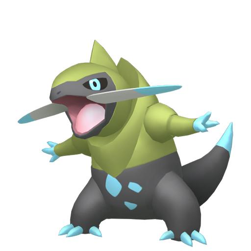 Artwork shiny de Incisache Pokémon Épée et Bouclier
