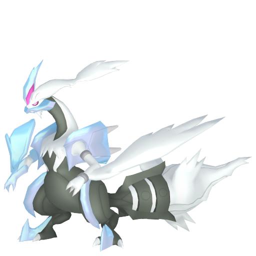 Artwork shiny de Kyurem Blanc Pokémon Épée et Bouclier