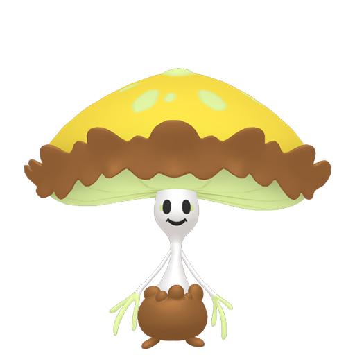 Artwork shiny de Lampignon Pokémon Épée et Bouclier