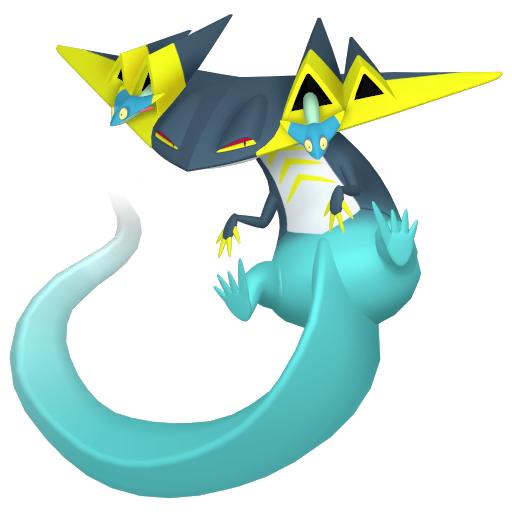 Artwork shiny de Lanssorien Pokémon Épée et Bouclier