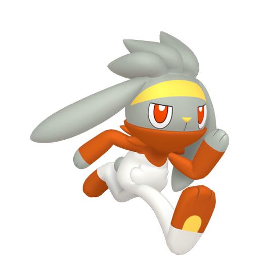 Artwork shiny de Lapyro Pokémon Épée et Bouclier