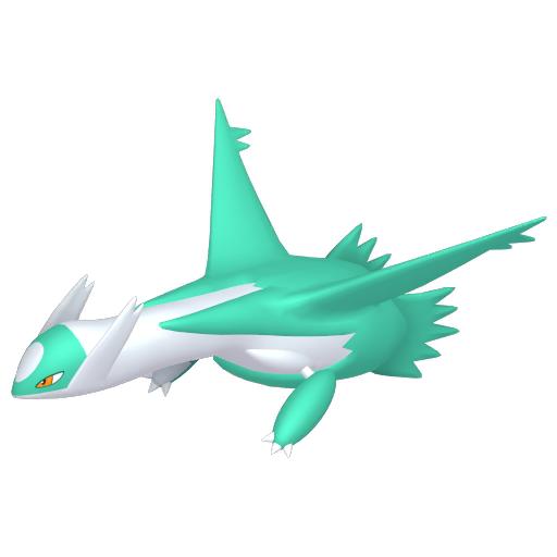 Artwork shiny de Latios Pokémon Épée et Bouclier
