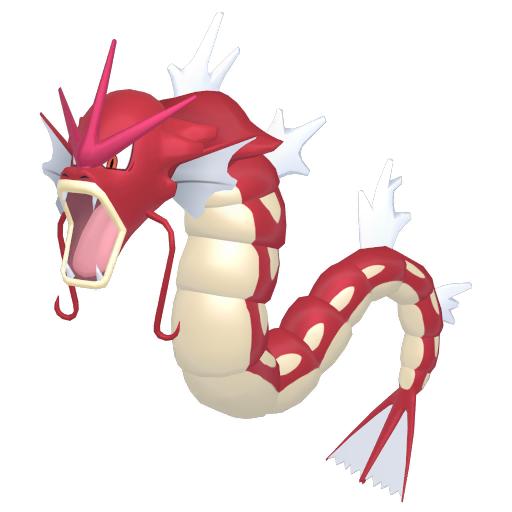 Artwork shiny de Léviator Pokémon Épée et Bouclier